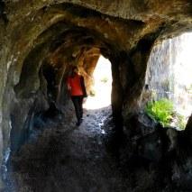 Gruta en el Parque Nacional Santa Teresa